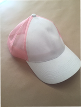 SALE - White/Pink cap