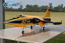 Freewing F-104 Starfighter Yellow 90mm EDF Jet - PNP