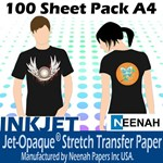 Jet Pro Opaque Darkwear Paper A4 100 Sheet Pack