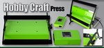 Hobby Press A4 Platen Size Green or Pink