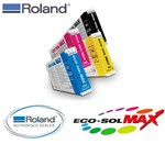 Roland Eco Max 220cc Ink Cartridges