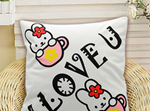 Super Soft Off-White Cushion Covers 40cm x 40cms