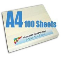 Sublimation Paper A4 size - 100 pack