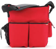 Skip Hop - DASH DIAPER BAG - Red