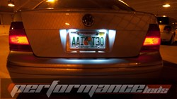 MK4 LED 'License Plate' Kit - No Error