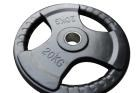 Rubber Olympic Tri-Grip Weight Plate 15Kg