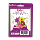 Sculpey® Push Mold- Flowers & Leaves - a press mould for use with clay.