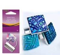 Premo! Sculpey® Square Ring blank
