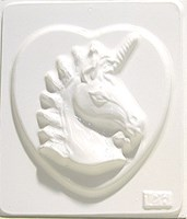 Mould 2126 - Unicorn on Heart