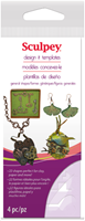 Sculpey Polymer Clay Design It Templates - General Shapes
