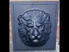 Lion Face Concrete Ornament Mould CM 6000