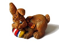 LM 1026 Rabbit Latex Mould/Mold for Plaster/candle/Soap/Concrete