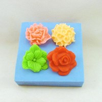 Small Roses Soap Mould RO391