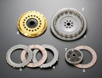 Honda NSX R2CD twin-plate clutch by OS Giken