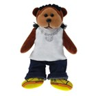 Beanie Kid Choc Ice Tea the Rapper Bear