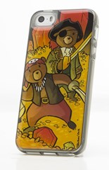 Teddy Bear Treasure Hunters i5/5s Phone Case