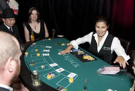 Professional Croupier Dealer per hour for Poker, Blackjack, Roulette, etc