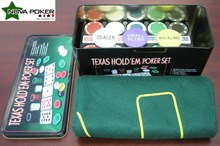 200 POKER CHIP Texas Hold'em Set