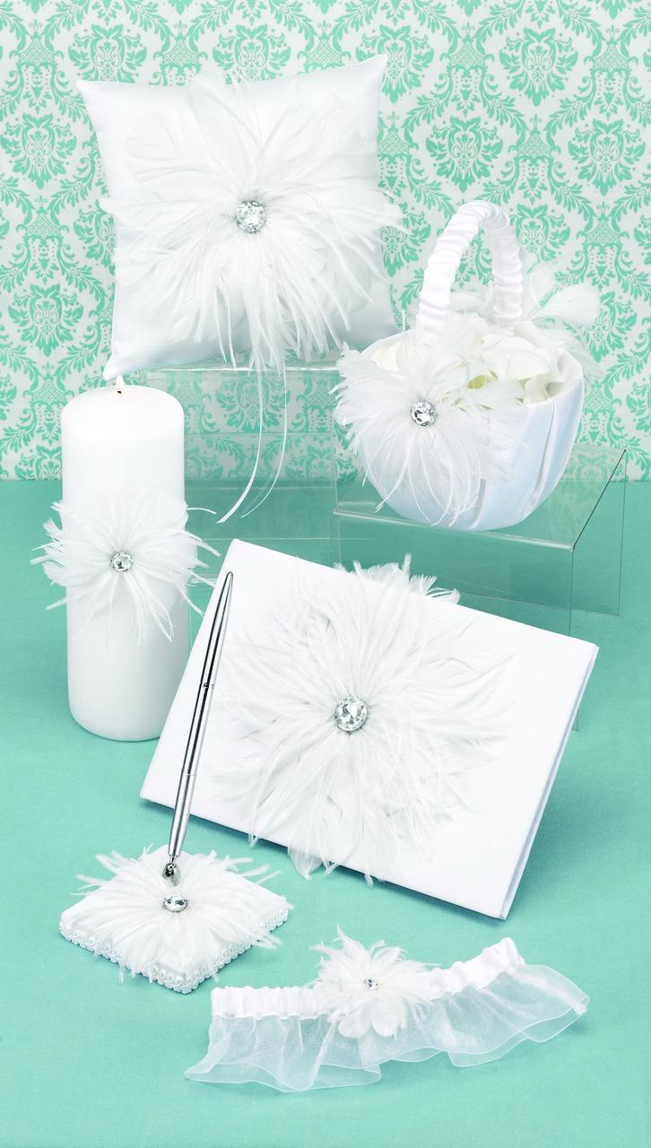 29711 Feathered Flair Collection cainsbridalwreath.com