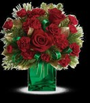 TWR02-1A  Yuletide Spirit Bouquet