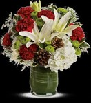 T597-5A Christmas Collage Bouquet