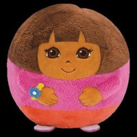 TY Beanie Ballz - DORA the Explorer