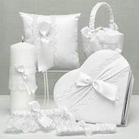 20589 Lace Allure Collection (Option 2 with heart guest book)