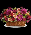 T159-3A Burst of Beauty Basket