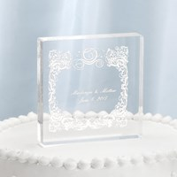 20826P Happly Ever After Cake Top