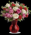 TEV07-3A Teleflora's Splendid in Red Bouquet