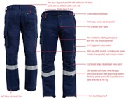 Bisley Ripstop Taped Cargo Trousers