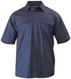 Bisley Cool Lightweight Drill Shirt Short Sleeve