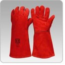 Red Welders Gloves