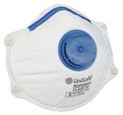 Unisafe P2 Valves Disposable Respirator Box 10