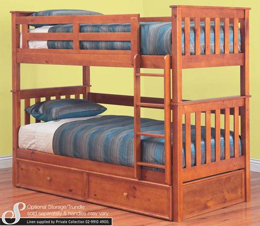 Bunk Bed King Single With King Single TRUNDLE BED NEW