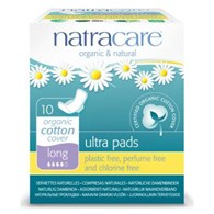 Natracare Natural Ultra Pads with Wings Long 10 Pack