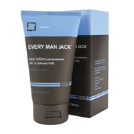 Every Man Jack 95mL Face Lotion with SPF 15 Fragrance Free