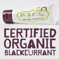 Jack n' Jill Natural Toothpaste 50g Blackcurrant Flavour