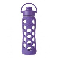 Lifefactory Reusable Glass Bottle with Flip Cap 650mL