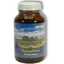 Hawaiian Pacifica Spirulina 1000 Tablets (500mg)