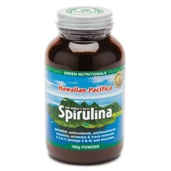 Hawaiian Pacifica Spirulina 100g Powder