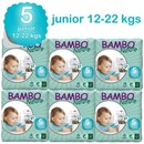 Bambo Nature Disposable Nappies - Junior - Size 5 - Carton of 162  - RRP $138.95 Our Price $135.95