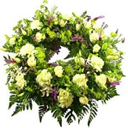 Wreath With White Tones, From $100