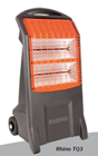 Rapid Rhino TQ3 230v 13a Portable Commercial Infrared Radiant Heater