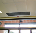 Dimplex DAB20ER High Power 24kW Recessed 2 x 1m Electric Air Curtain from the DAB Range