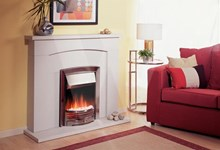 Dimplex Adagio ADG20 Polished Cast Iron Inset Fire - £355