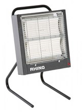 Rhino CH3 2.8kw 240v portable quartz halogen ceramic heater
