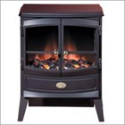 Dimplex Springborne Remote SBN20N 2kw compact black cast effect finish electric stove