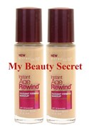 BULK 2 X MAYBELLINE INSTANT AGE REWIND FIRMING FOUNDATION - CHOOSE YOUR SHADE