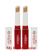 BULK 2 X L'OREAL INFALLIBLE NEVER FAIL 16HR CONCEALER #682 MEDIUM